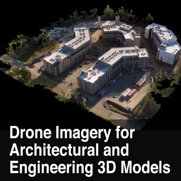 Drone Mapping, Architectural and Engineering 3D models