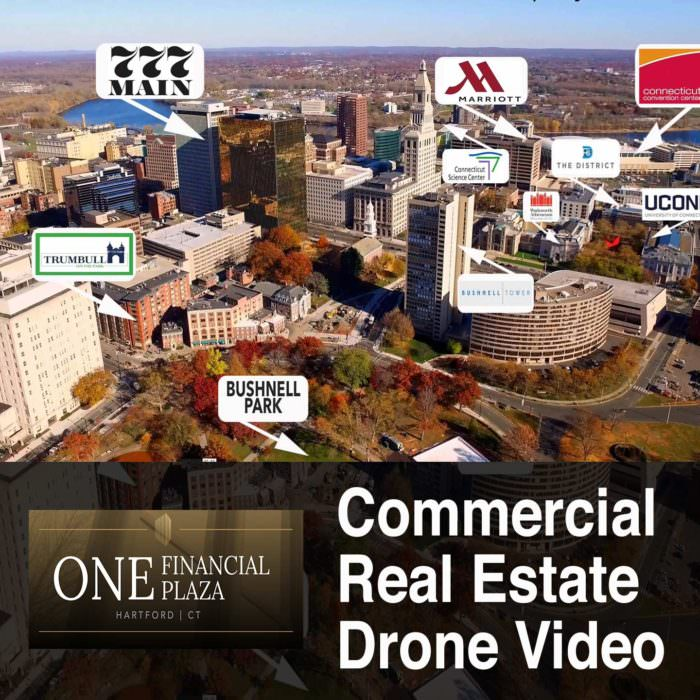 Commercial Real Estate Drone Video: One Financial Plaza