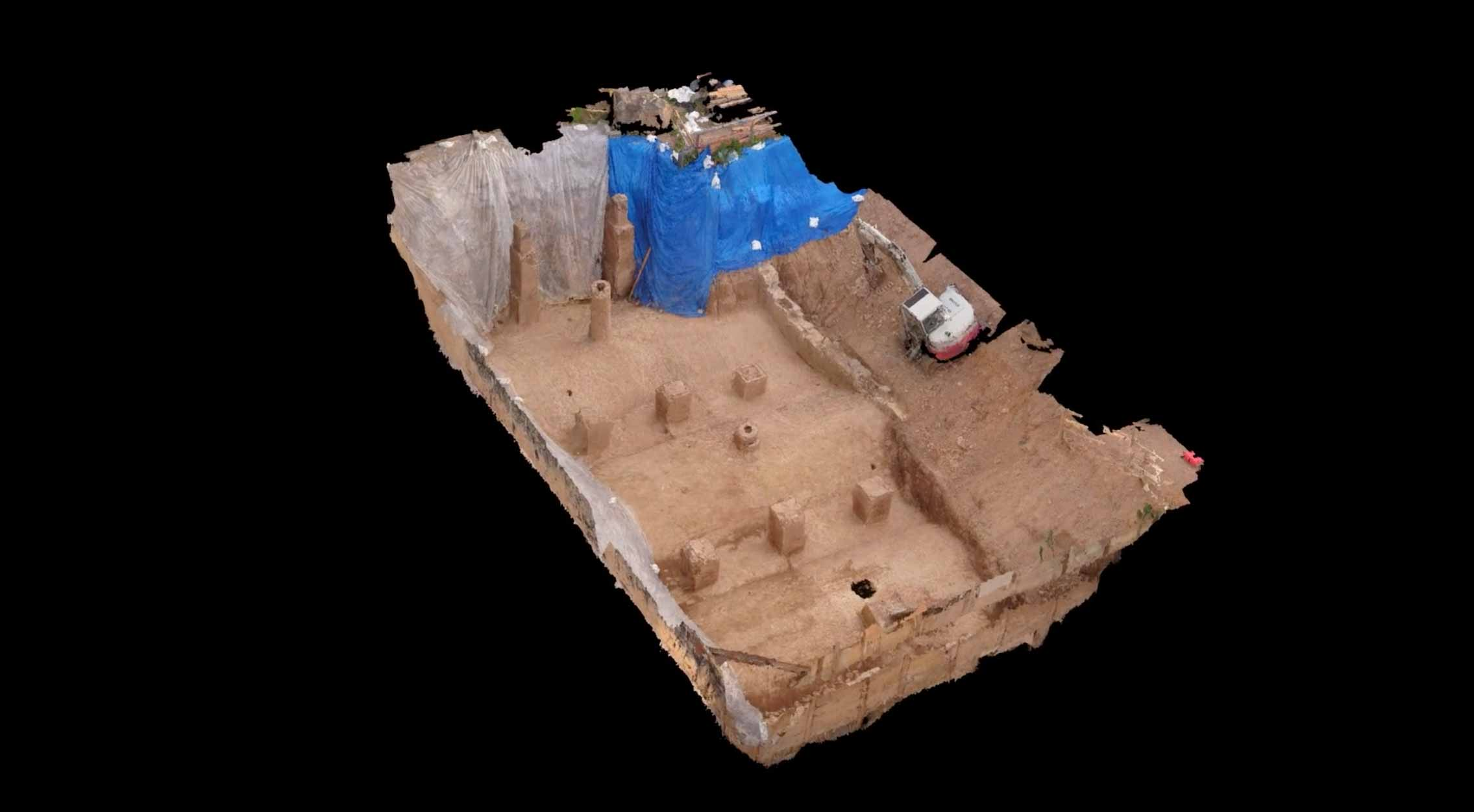 Archaeologist uses Drones to Create a 3D Model of 1860s Brewery Vaults in Brooklyn, NY