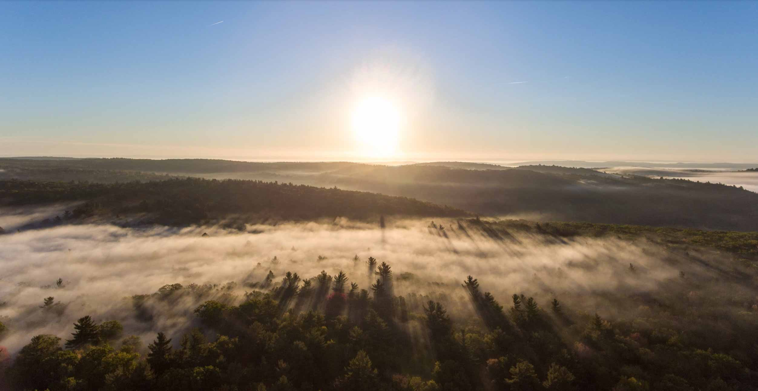 Fog Hyperlapse Using Drone