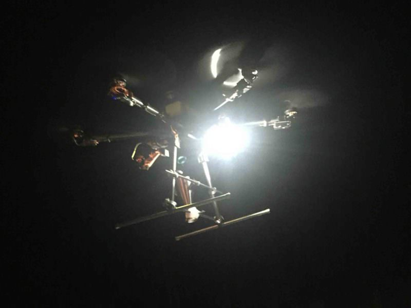Dynamic Drone Light for Night Photography and Video Projects