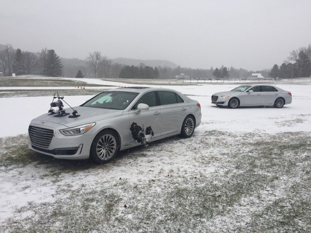 Can you fly Drones in the Snow? Behind the Scenes of Car and Driver's Winter Driving Clinic Video