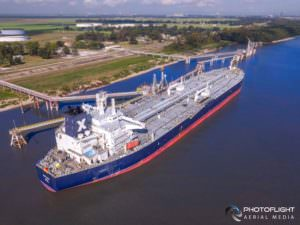 Commercial Shipping Drone Photography Services