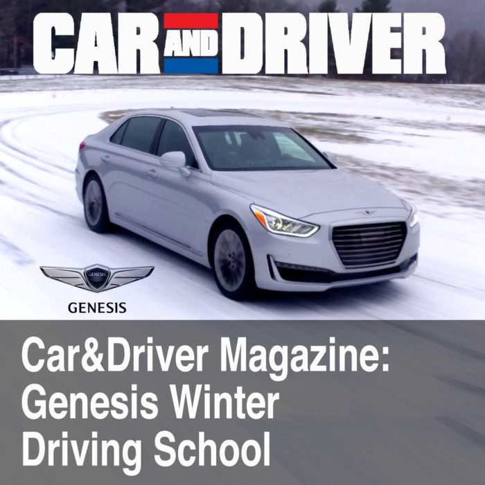 Car and Driver Winter Driving Clinic