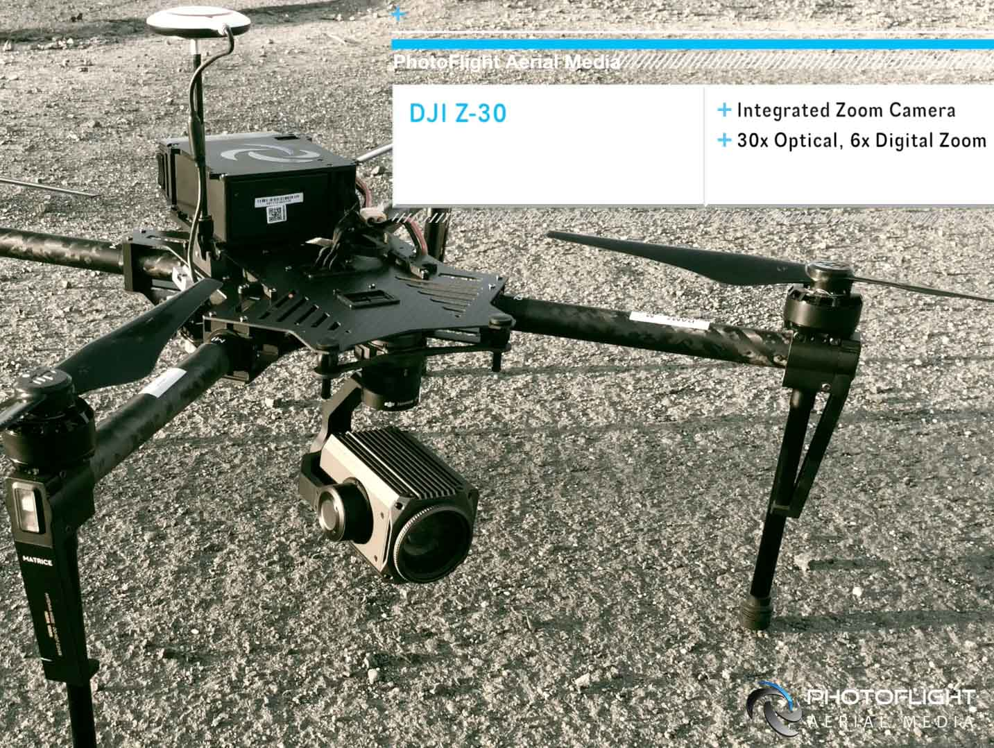 30x Optical Zoom Drone Camera for News and Event Live Broadcast