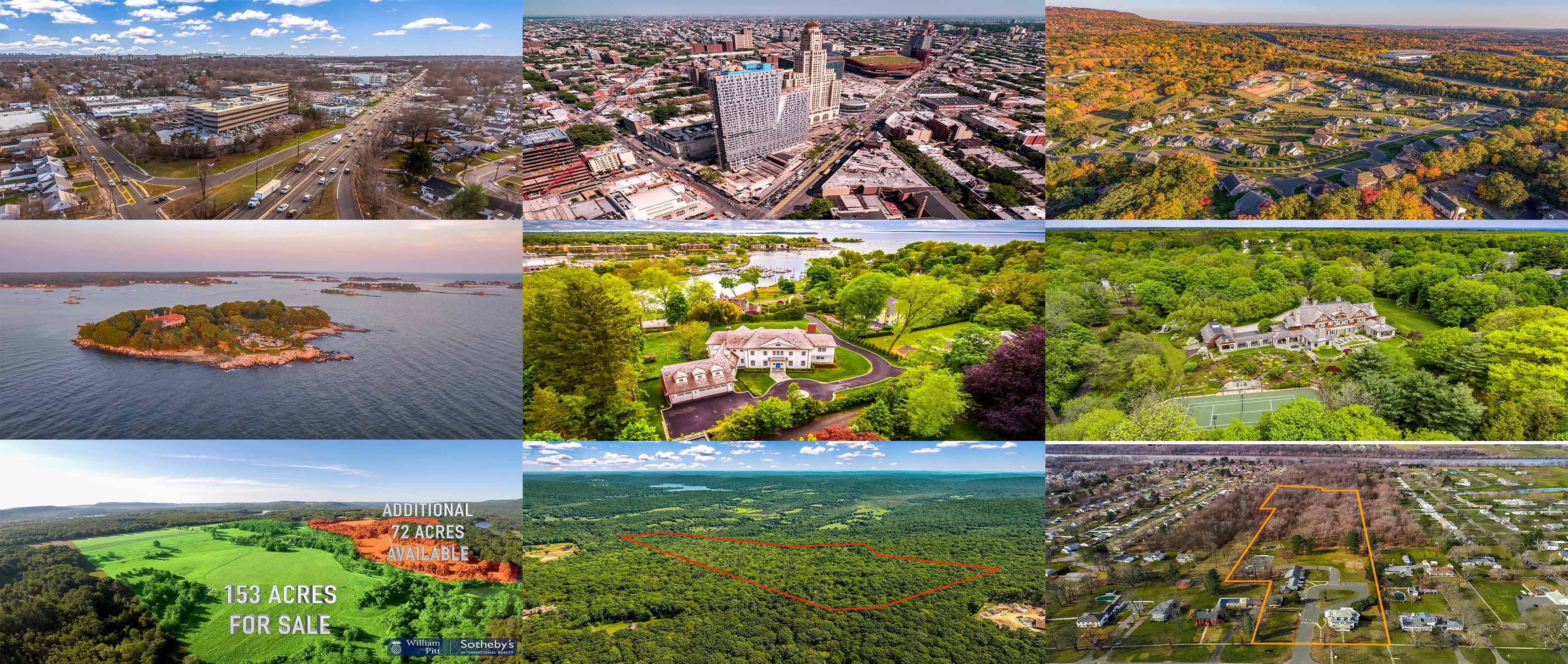 NY NJ CT MA Real Estate Drone Photography