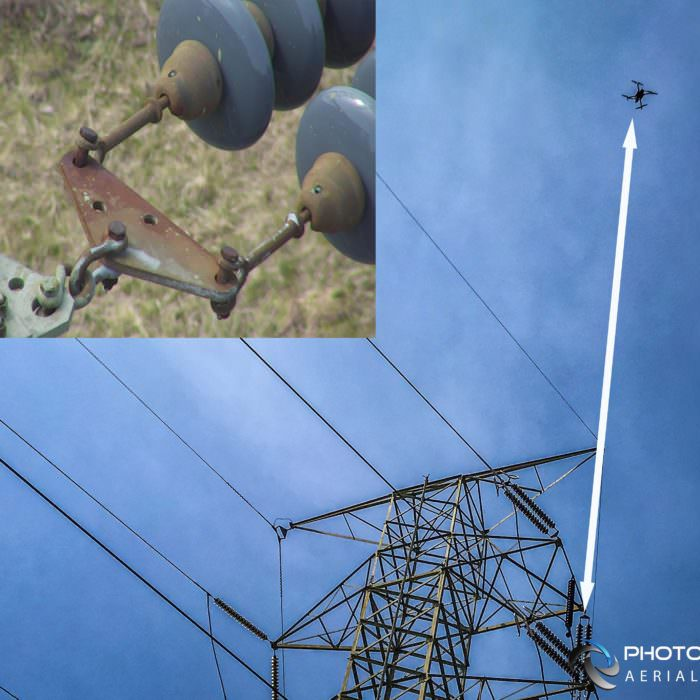 Infrastructure Drone Inspections using 30x Optical Zoom Camera