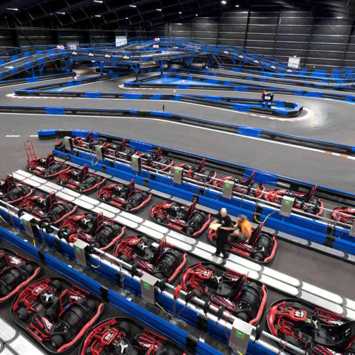 World's Largest Indoor Go Kart Track