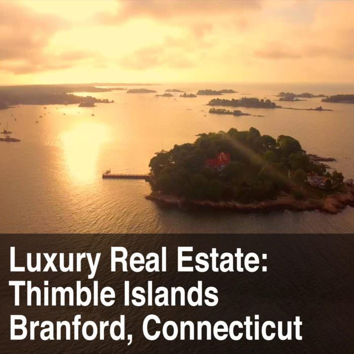Thimble Islands Luxury Real Estate Drone Video
