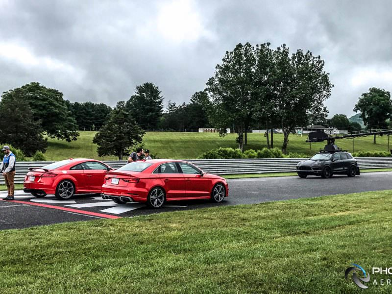 Behind the Scenes: Audi RS3 and TTRS promo with Audi Sport and Filmotechnic USA.