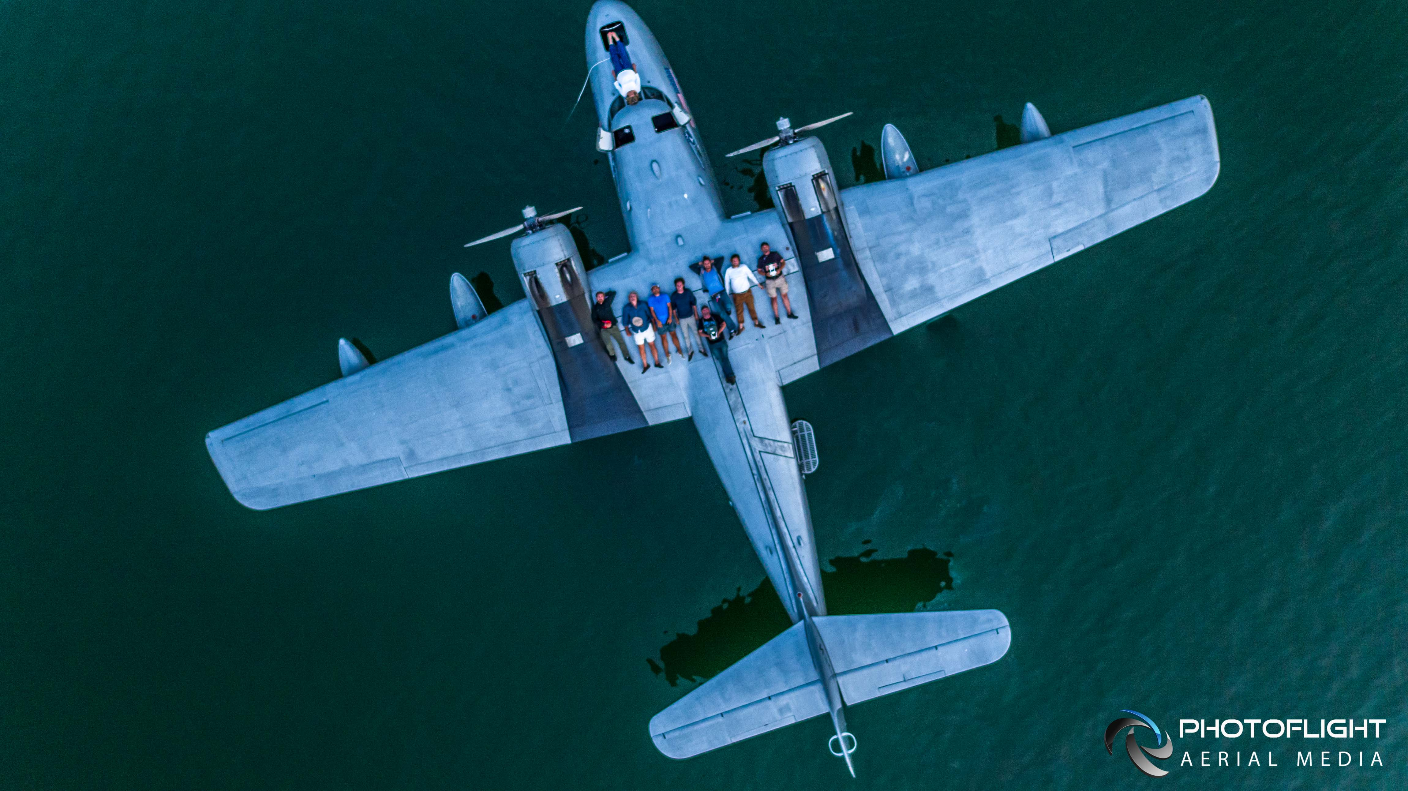 Grumman Albatross Flying Boat Film - Drone Photography and video by Photoflight Aerial Media-CT, NY, MA, NJ, drone operator