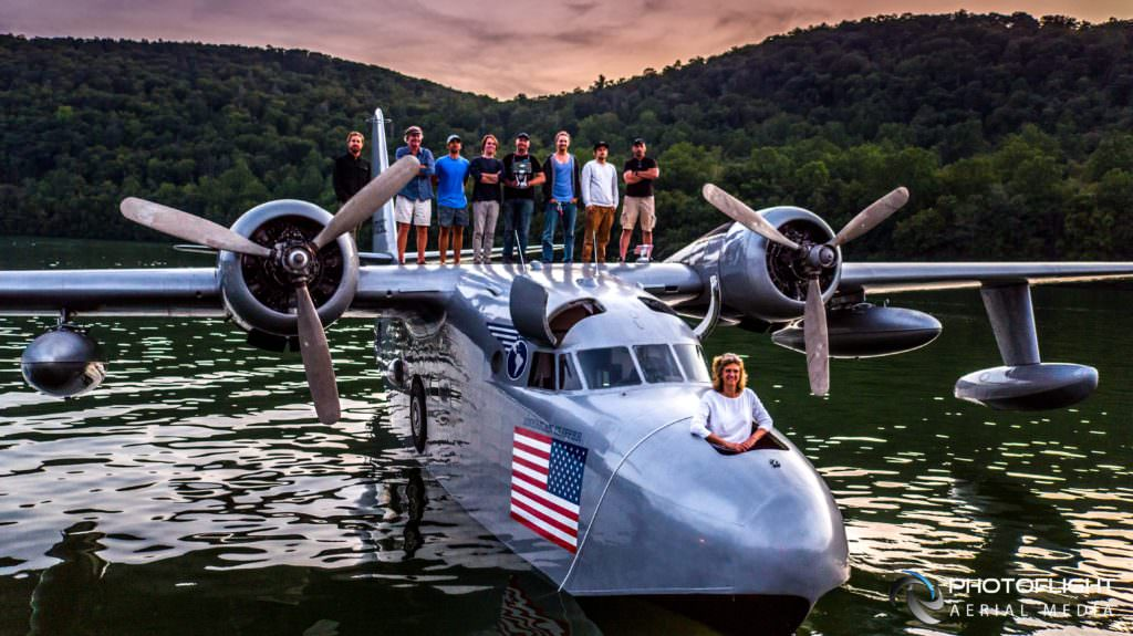 Flying Boat Film - Drone Photography and video by Photoflight Aerial Media-CT, NY, MA, NJ, drone operator