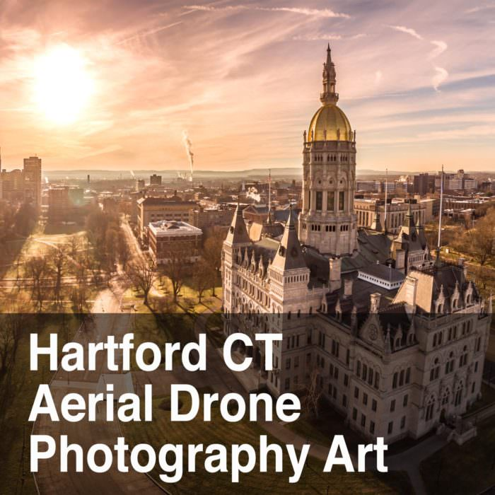 Hartford CT Aerial Drone Photography