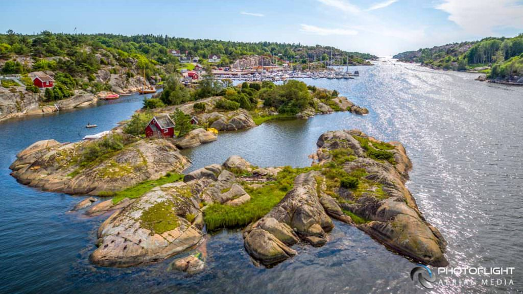 Hvaler, Norway - drone photograph by Photoflight Aerial Media