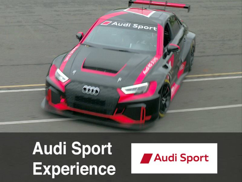 Making of: Audi Sport Experience with Hans Stuck and 2018 Audi TT RS, Audi RS3 and RS3 LMS at Lime Rock Park