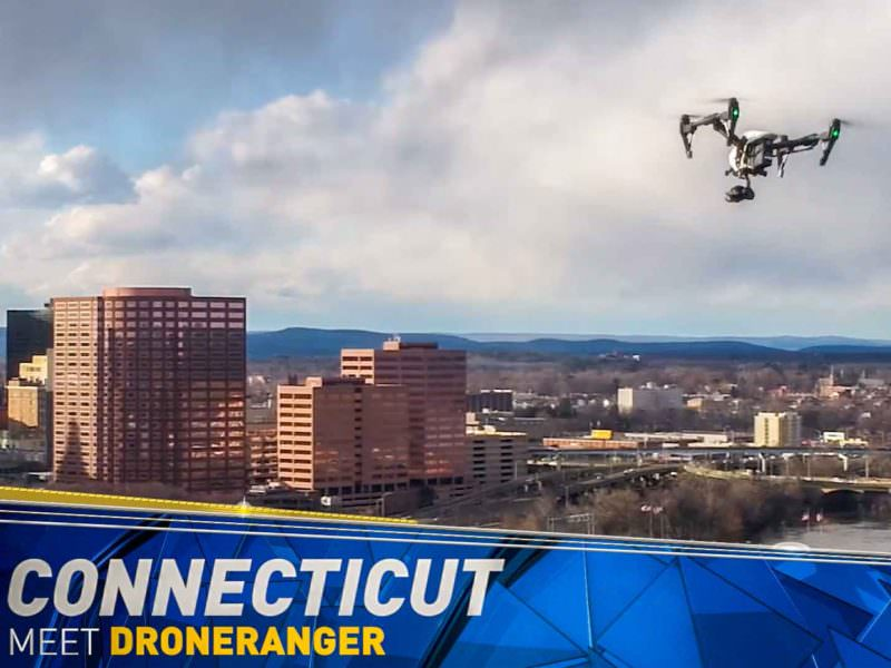 NBC CT Introduces the Drone Ranger: Live Drone News Broadcast program in cooperation with PhotoFlight Aerial Media.
