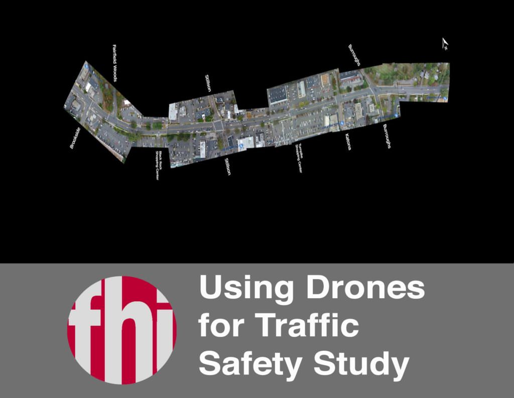 Drone Traffic Safety Study: Black Rock Turnpike in Fairfield CT