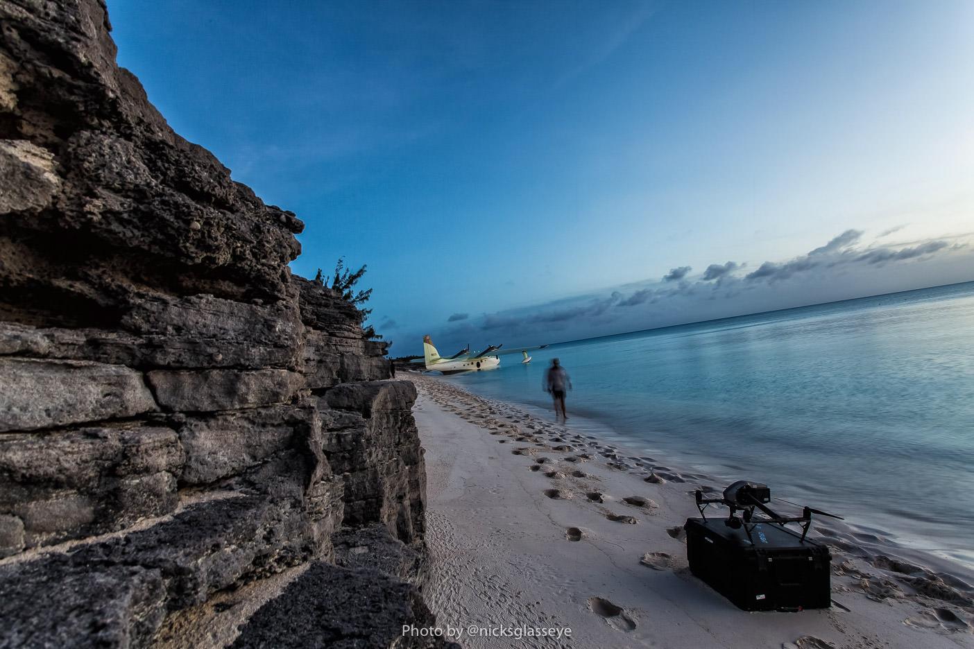 Flying Boat Bahamas BTS, Photo Credit: Nicholas Pascarella @nicksglasseye