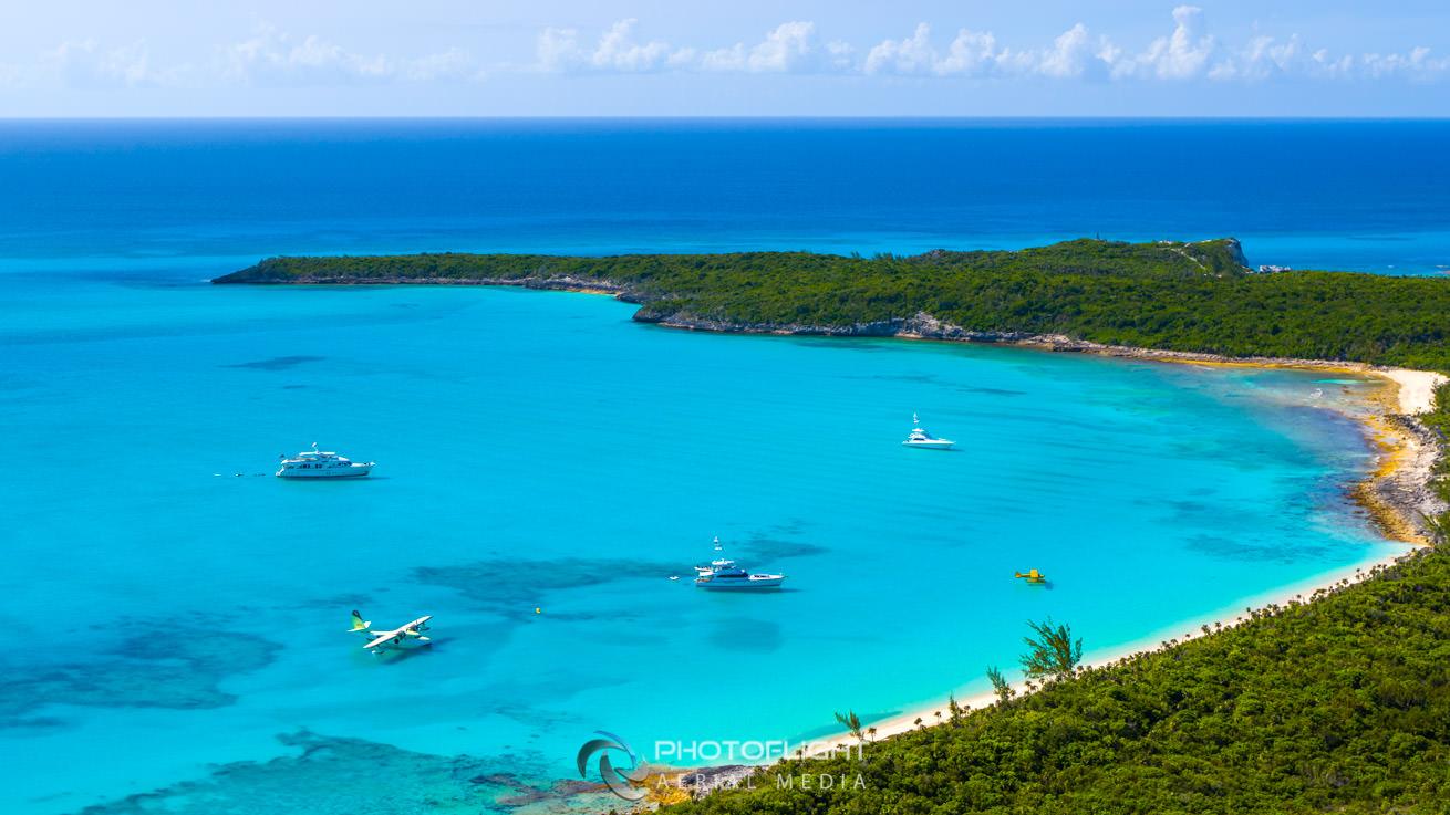 Flying Boat Film Bahamas, PhotoFlight Aerial Media, professional drone cinematography