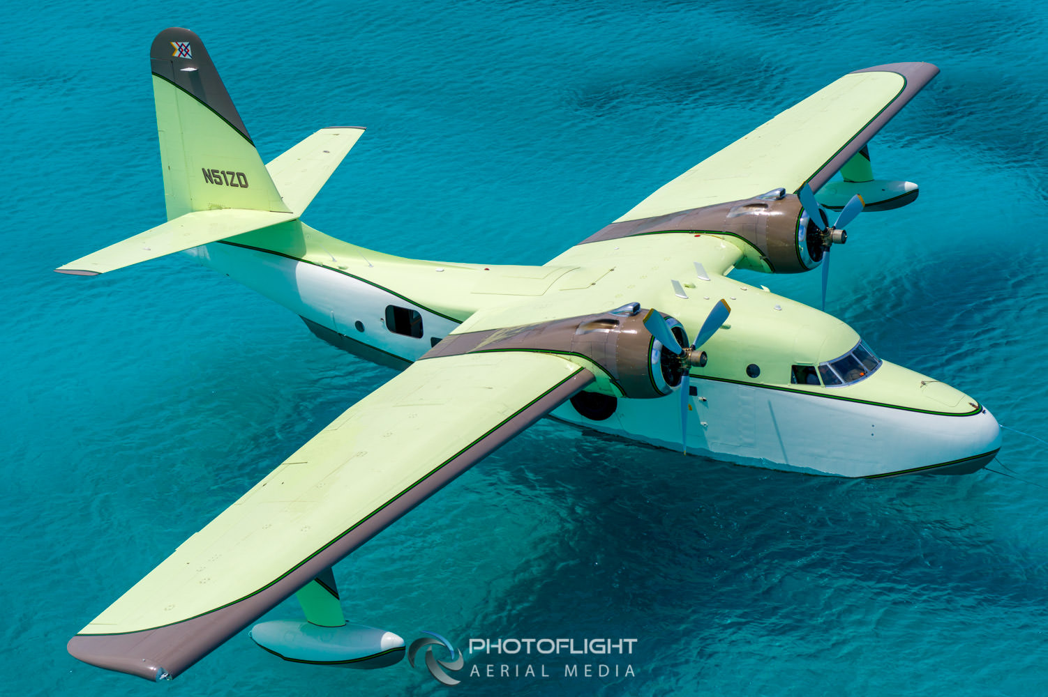 Flying Boat Grumman Albatross, drone photography by Photoflight Aerial Media. Subject to copyright ©Photoflight Aerial Media