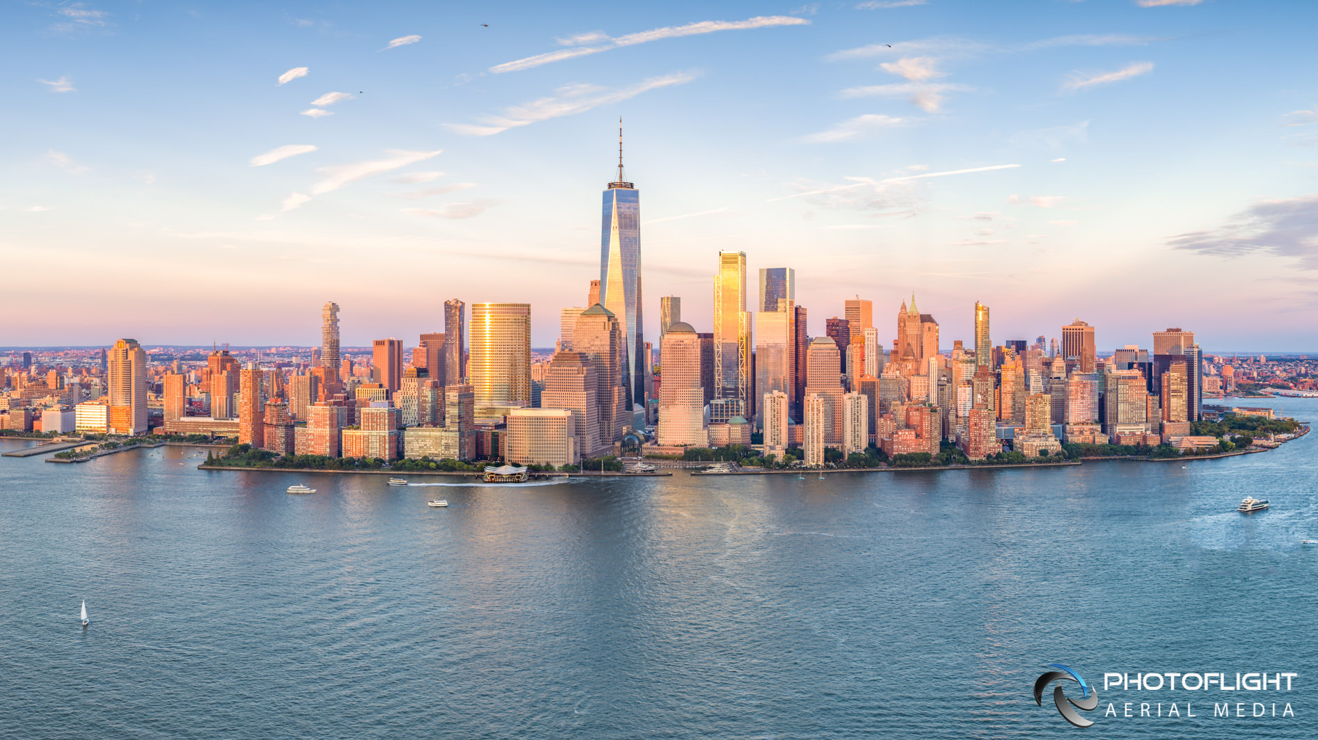 Aerial Skyline Photo of Manhattan