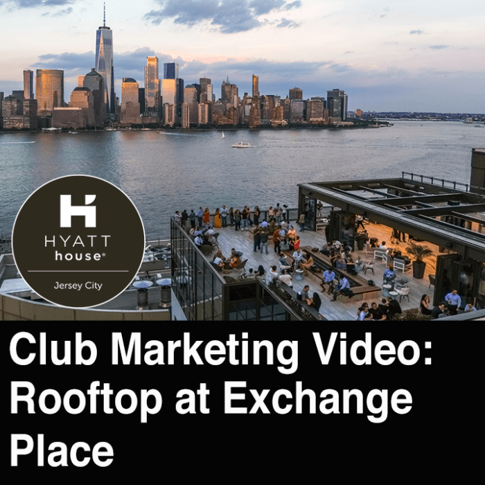 Rooftop at Exchange Place NJ Club Promo
