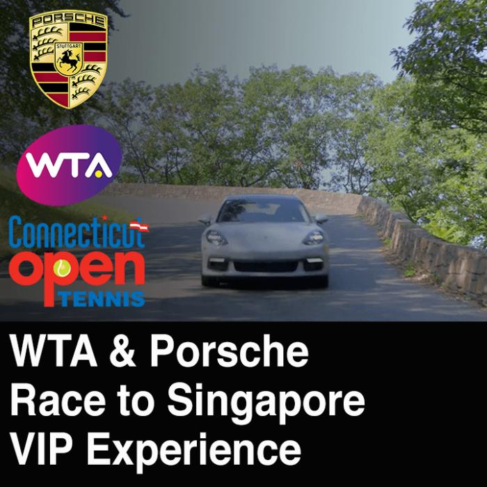 WTA, Porsche – Race to Singapore VIP Experience