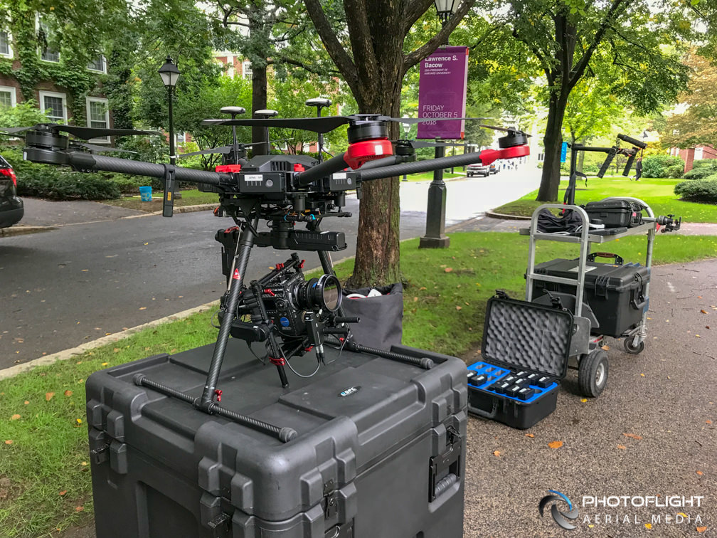 DJI M-600 Red Weapon Helium, Photoflight Aerial Media