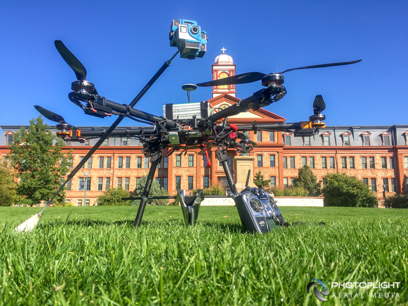 360 camera drone, Photoflight, NYC drone operator