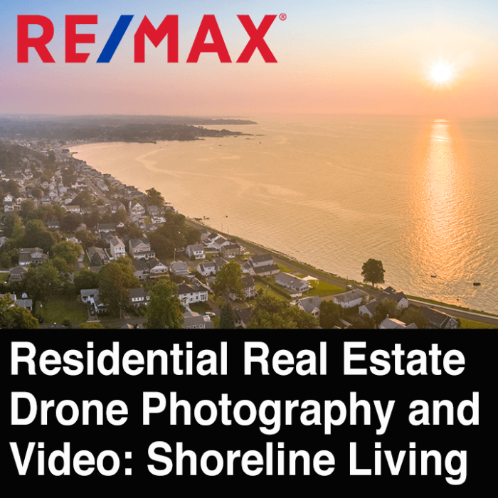Real Estate Drone Photography, Video in CT, MA, NY, NJ