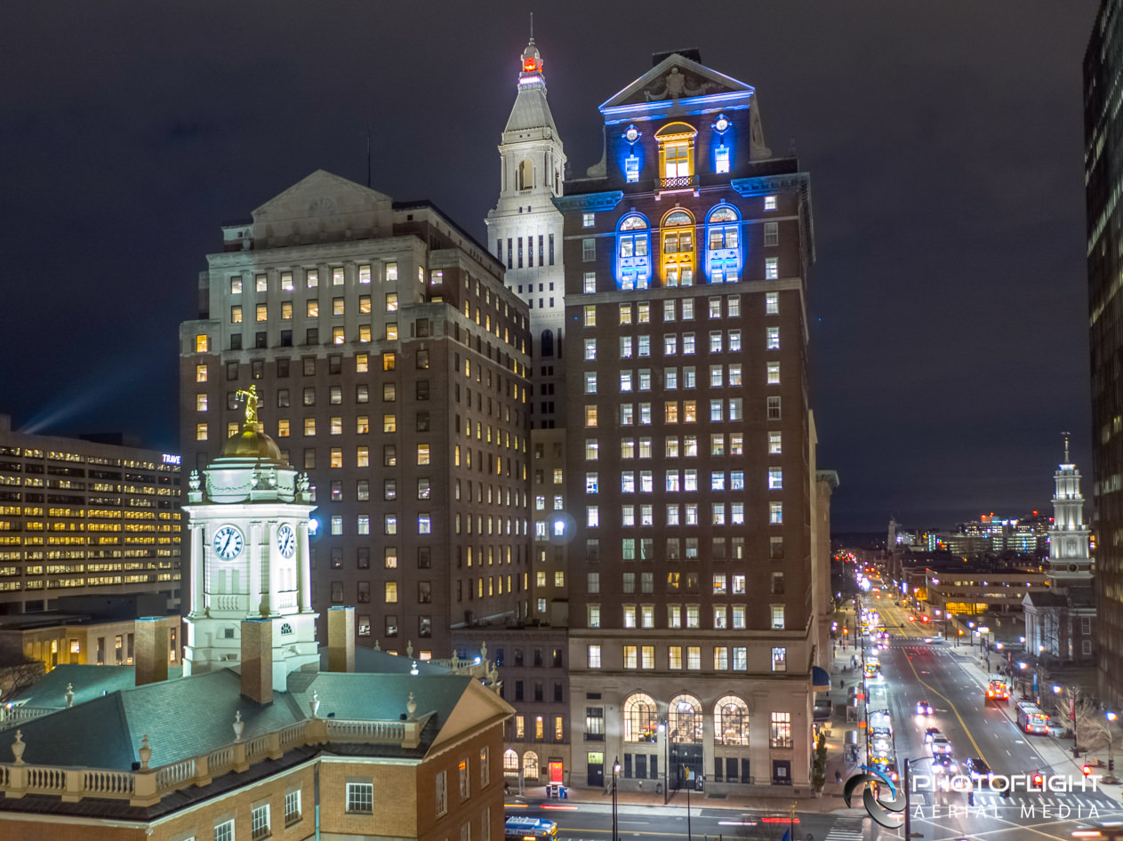 Stark Building, Hartford CT, Commercial Real Estate Photography and Video in CT